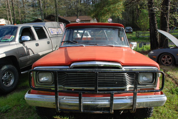 Another bagged-GMC 1979 Jeep J10 Honcho post... - 11686817