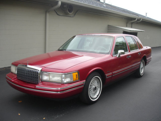 90lincolntc 1994 Lincoln Town Car S Photo Gallery At Cardomain