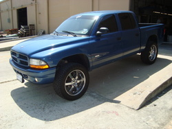 bluethunder04 2004 Dodge Dakota Crew Cab