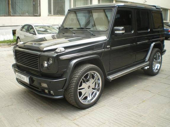 Brabus 2005 Mercedes Benz G Class Specs Photos