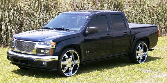Canyonon24s 2007 Gmc Canyon Regular Cab Specs Photos