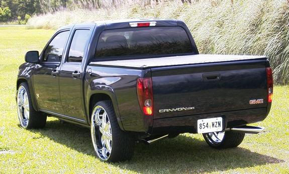 canyonon24s 2007 GMC Canyon Regular Cab 11697264