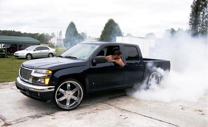 Rim And Tire Package >> canyonon24s 2007 GMC Canyon Regular Cab Specs, Photos ...