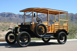 Sunset-Route 1921 Ford Model T