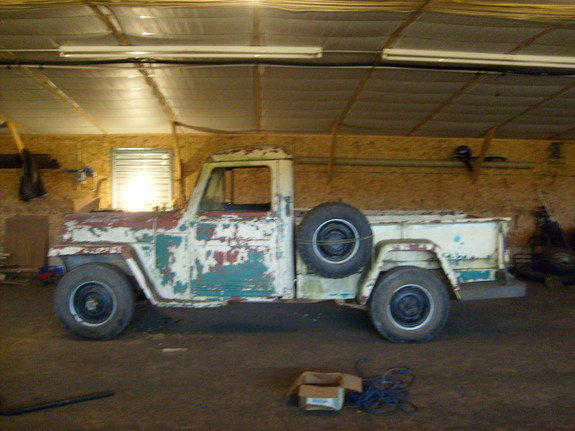 thefive-0's 1957 Willys Pickup