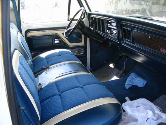 1979 Ford Truck Upholstery