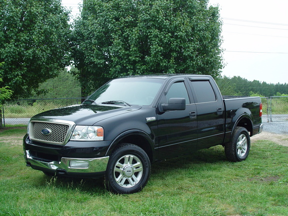 blackedout150 2004 ford f150 regular cab specs photos. Black Bedroom Furniture Sets. Home Design Ideas