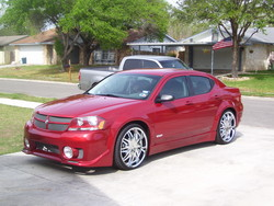 redonredavengers 2008 Dodge Avenger