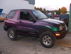BlizzardBeauty 1999 Chevrolet Tracker