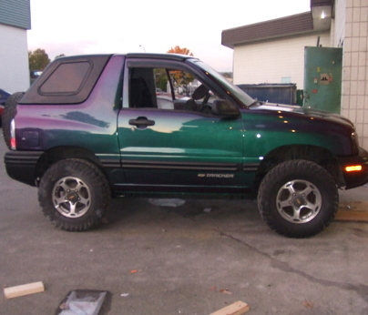 Blizzardbeauty 1999 Chevrolet Tracker Specs Photos