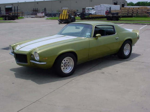 71GreenMantis 1971 Chevrolet Camaro 11735017
