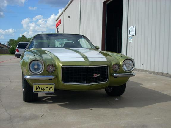 71GreenMantis 1971 Chevrolet Camaro 11735039