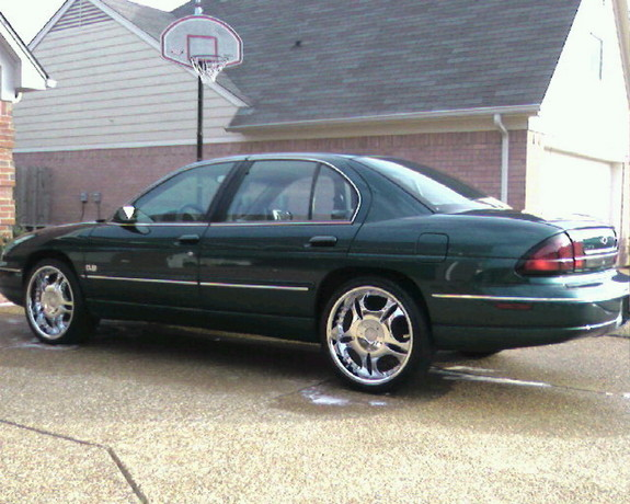2000 Dark Jade Green Metallic Chevrolet Lumina Sedan ...