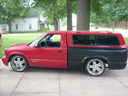 JJs_Customss 1998 Chevrolet S10 Regular Cab