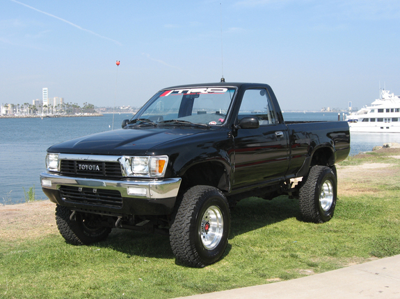 1991 toyota pickup 4x4 trucks pinterest toyota 4x4. Black Bedroom Furniture Sets. Home Design Ideas