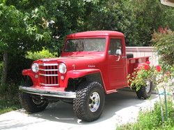 TheWillysFan 1955 Willys Pickup