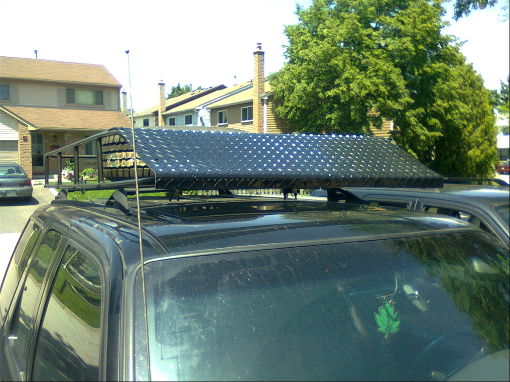 My New Roof Rack With Lights Ford Explorer And Ford