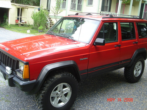 So This Is My 96 Cherokee Sport Project. I Bought It Used From A Farm