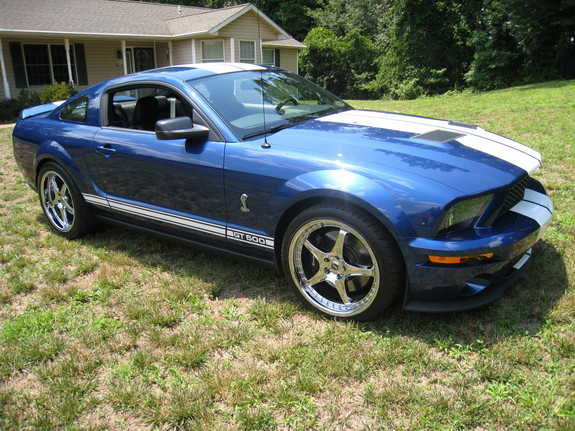 gt 500 2008 ford mustang specs photos modification info at cardomain. Black Bedroom Furniture Sets. Home Design Ideas