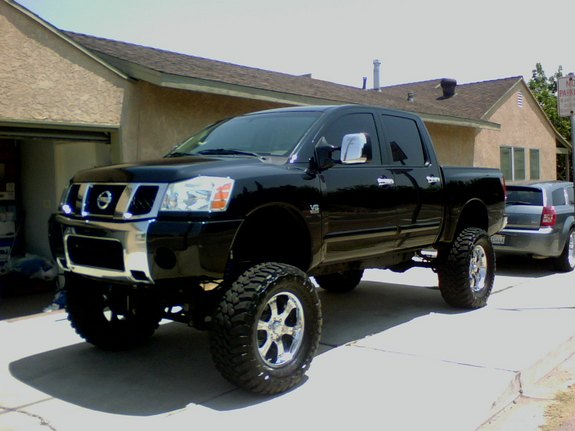 crazwhteboy 2004 nissan titan crew cab specs photos modification info at cardomain. Black Bedroom Furniture Sets. Home Design Ideas