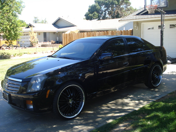 fifty247 2004 cadillac cts specs photos modification. Black Bedroom Furniture Sets. Home Design Ideas