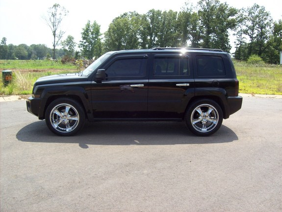 Jeep patriot tires and rims