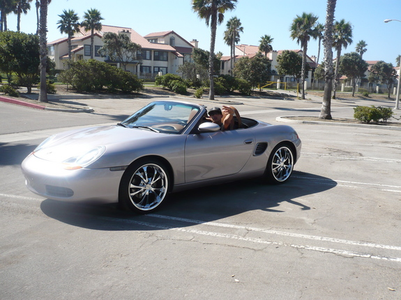 dub805 2001 porsche boxster specs photos modification. Black Bedroom Furniture Sets. Home Design Ideas