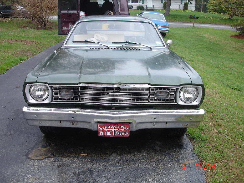 M O P A R S 1973 Plymouth Duster In Marlborough Ct