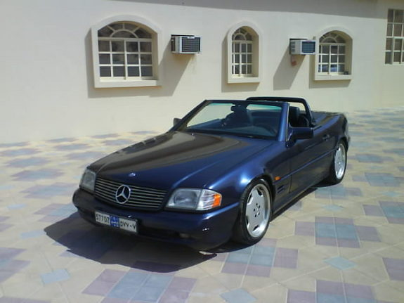 Alsharhan 1995 mercedes benz sl class specs photos for 1995 mercedes benz sl500