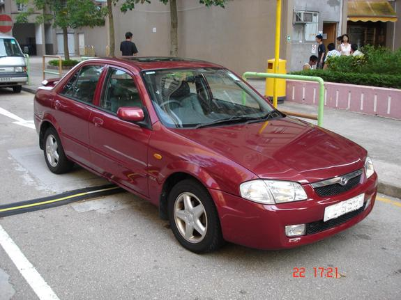 Large on Red Volvo S70 2000