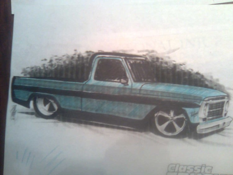 Fast and Loud Ford F100
