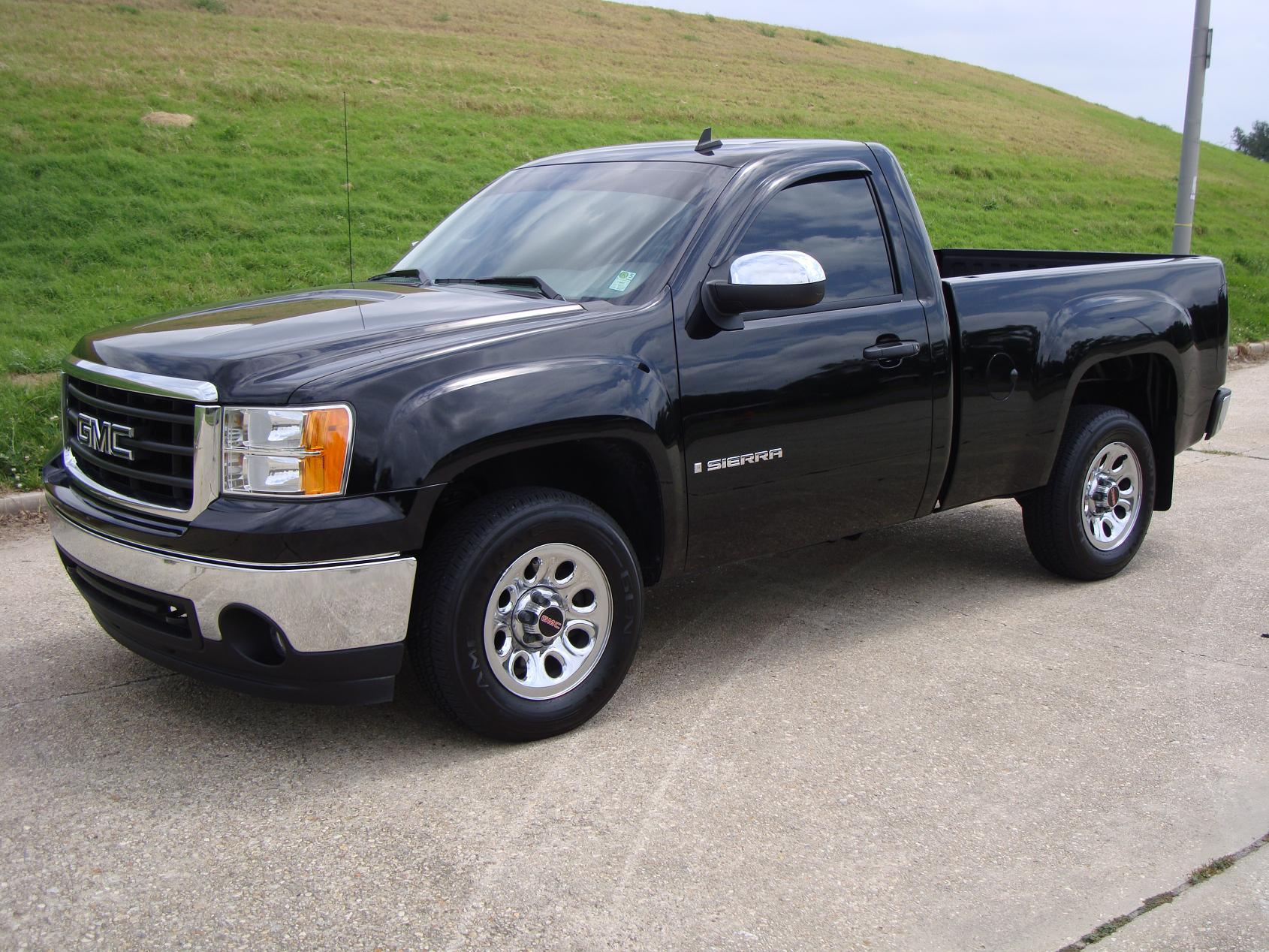 miramballer 2008 gmc sierra 1500 regular cab specs photos. Black Bedroom Furniture Sets. Home Design Ideas