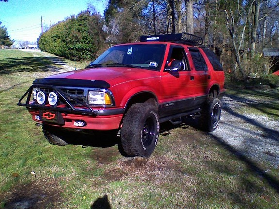 TMCredrider 1996 Chevrolet S10 Blazer Specs, Photos