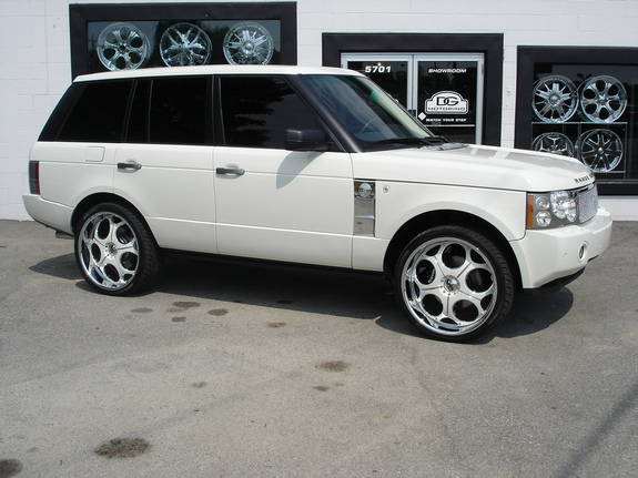 dg motoring 2007 land rover range rover specs photos. Black Bedroom Furniture Sets. Home Design Ideas