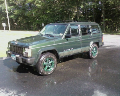 Disco89's 1996 Jeep Cherokee