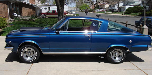 65fscuda 1965 Plymouth Barracuda