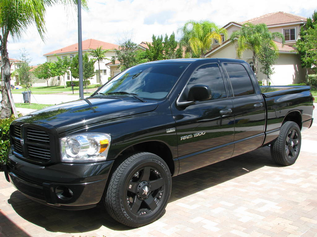 zombiekarate 2007 dodge ram 1500 regular cab specs photos. Black Bedroom Furniture Sets. Home Design Ideas