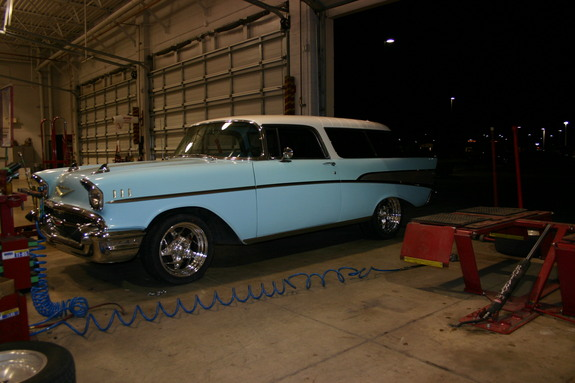 Another wagzilla 1957 Chevrolet Nomad post... - 11823628