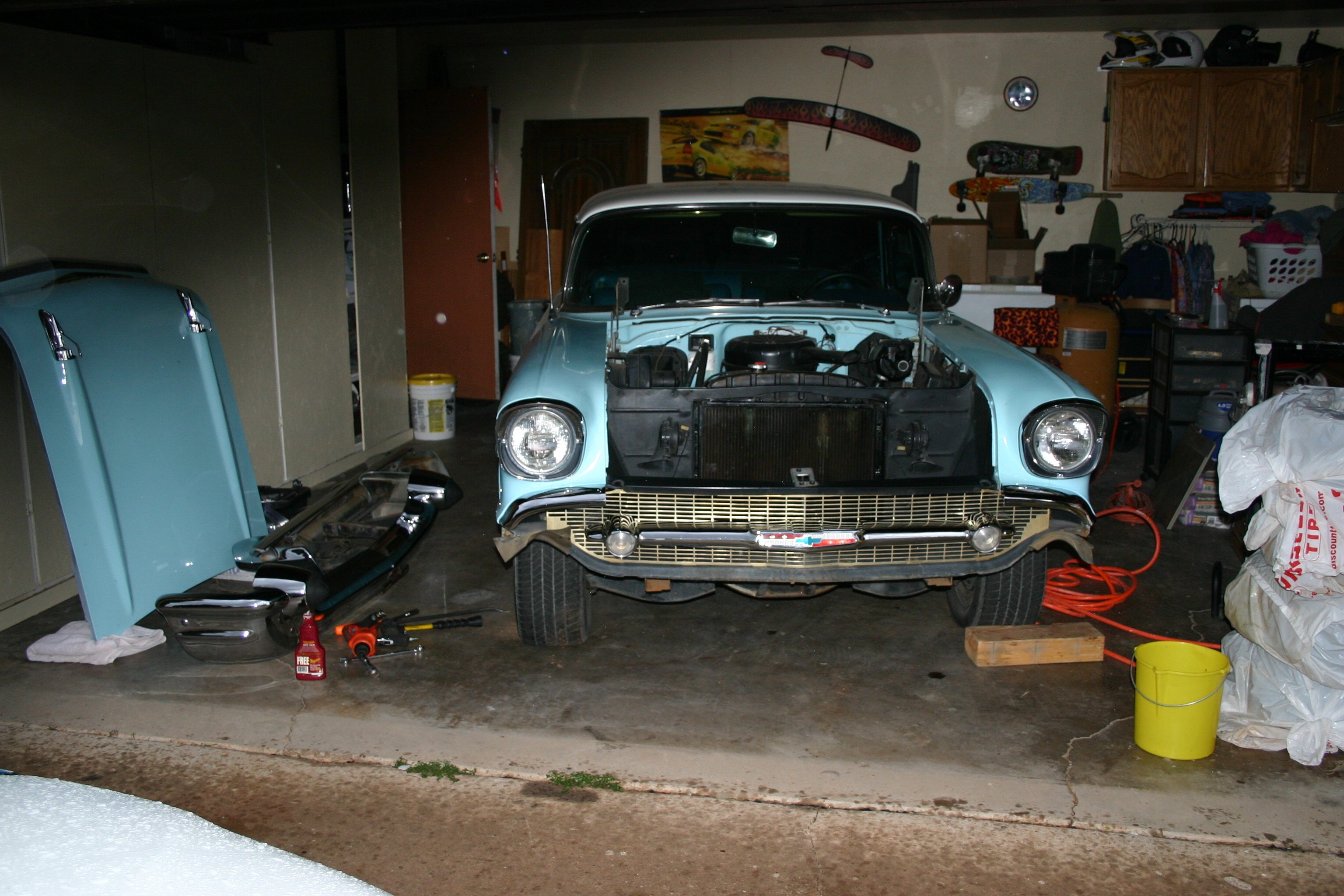 Another wagzilla 1957 Chevrolet Nomad post... - 11823637