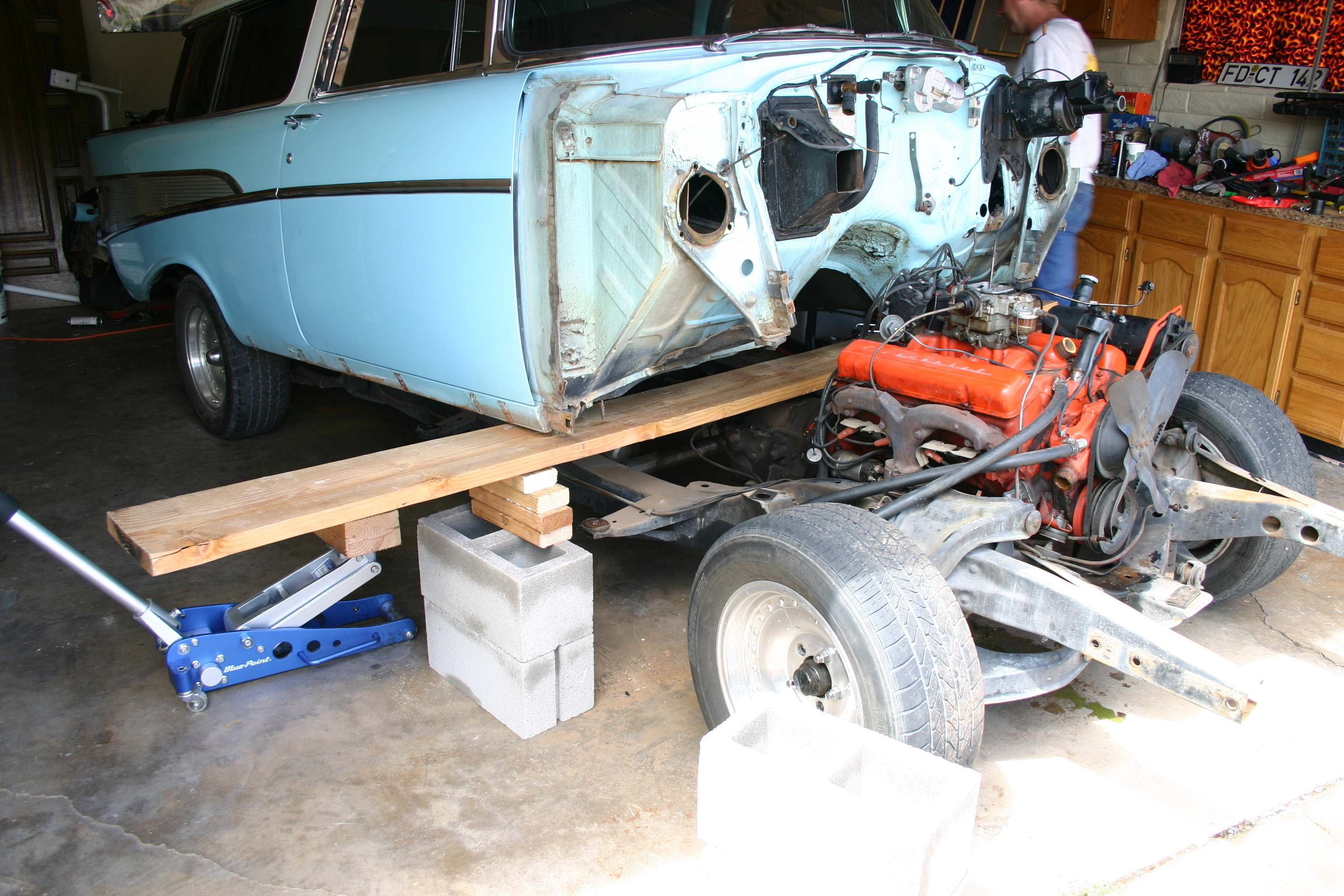 Another wagzilla 1957 Chevrolet Nomad post... - 11823642