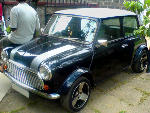 mininut's 1967 Morris Mini Minor