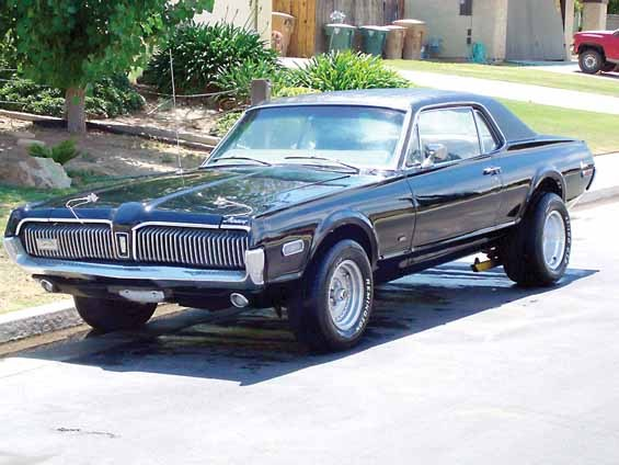muscle vs import 1968 mercury cougar specs photos. Black Bedroom Furniture Sets. Home Design Ideas