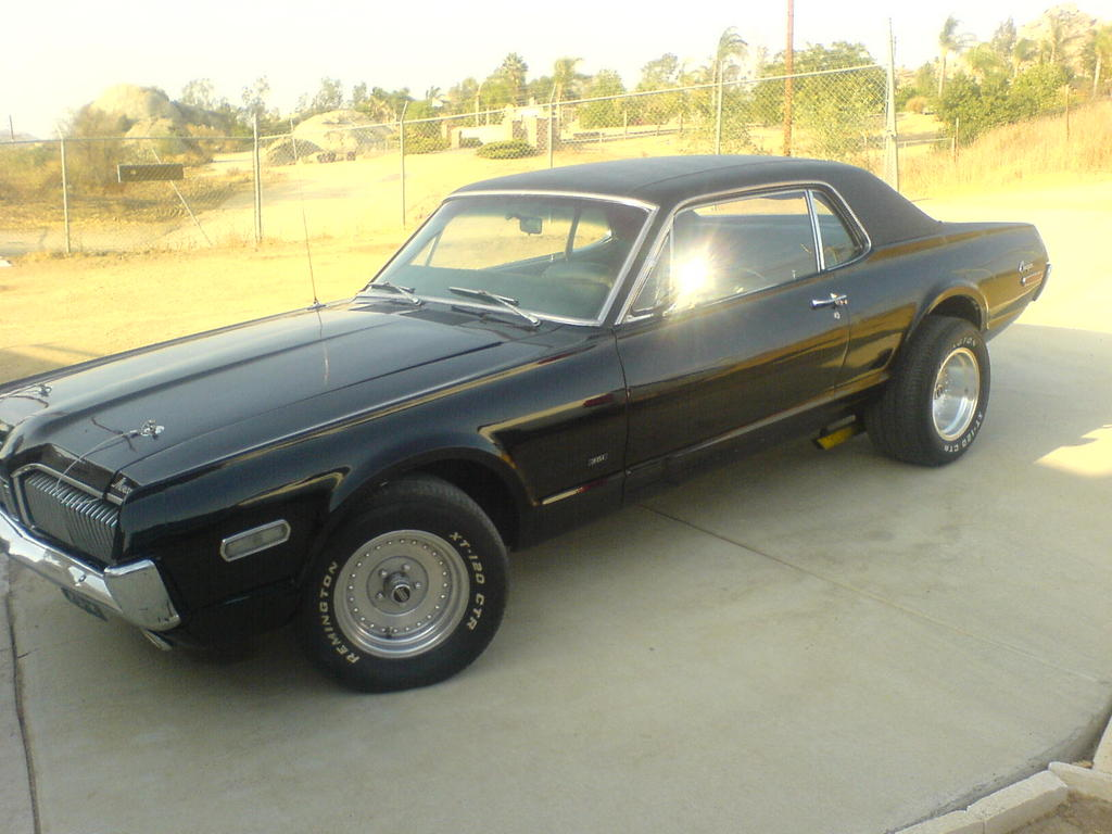 Another Muscle_Vs_Import 1968 Mercury Cougar post... - 11836827