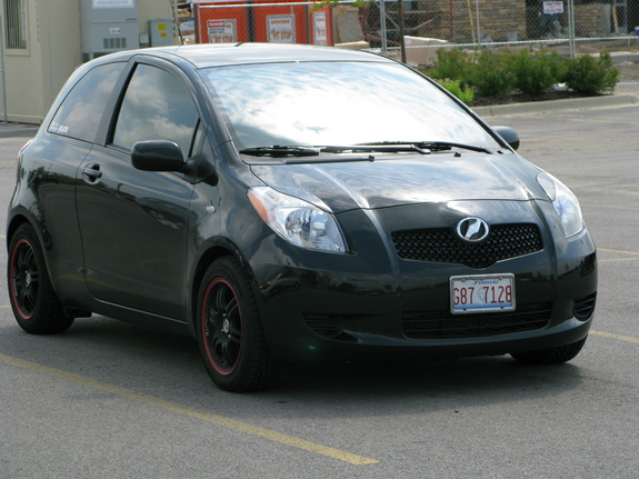 kazutosan 39 s 2008 toyota yaris in chicago il. Black Bedroom Furniture Sets. Home Design Ideas