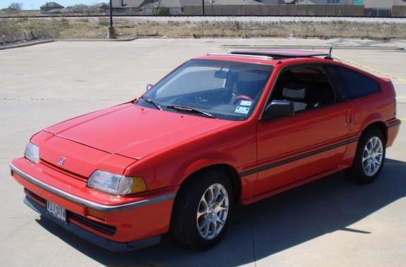 radars si 39 s 1987 honda crx in burleson tx. Black Bedroom Furniture Sets. Home Design Ideas
