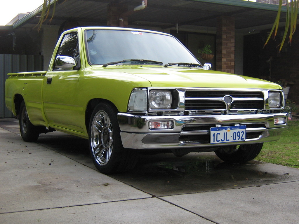 Delishmalish 1989 Toyota Hilux Specs Photos Modification