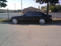 blacks420s 1995 Mercedes-Benz S-Class