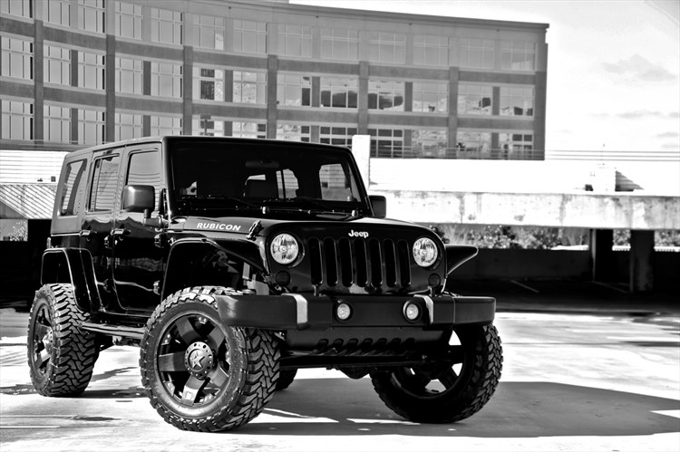 jeep wrangler 4 door custom. JEEP Wrangler rubicon (4