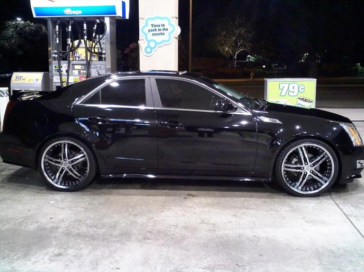 Ajlee777 2008 Cadillac Cts Specs Photos Modification