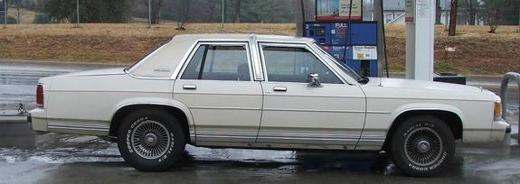Ford50only50 1991 Ford Ltd Crown Victoria Specs Photos